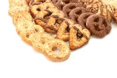 Biscotti di Allsorts Immagine Stock Libera da Diritti