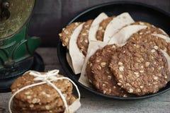 Biscotti di Anzac Immagini Stock