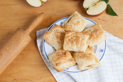 Biscotti di Apple Fotografia Stock
