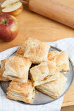 Biscotti di Apple Fotografia Stock Libera da Diritti