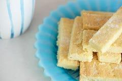 Biscotti di biscotto al burro Fotografie Stock Libere da Diritti
