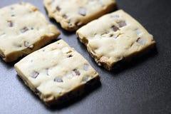 Biscotti di biscotto al burro Fotografia Stock