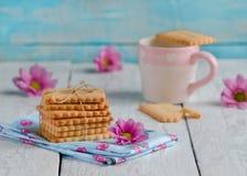 Biscotti di biscotto al burro casalinghi Immagini Stock Libere da Diritti