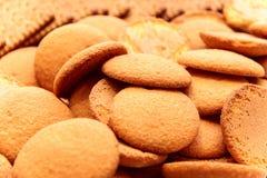 Biscotti di Brown Fotografie Stock