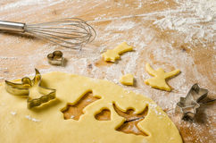 Biscotti di burro Immagini Stock Libere da Diritti