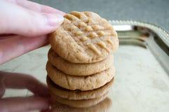 Biscotti di burro di arachidi #4 Fotografia Stock