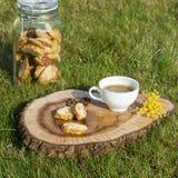 Biscotti di Cantuccini Fotografia Stock