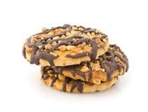 Biscotti di Chocolat fotografie stock libere da diritti
