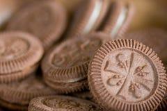 Biscotti di Chocoloate Fotografia Stock