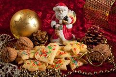 Biscotti di Christams Immagini Stock Libere da Diritti