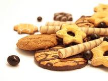 Biscotti di Cockolate Fotografia Stock Libera da Diritti