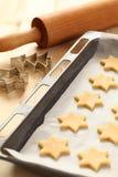 Biscotti di cottura Fotografia Stock Libera da Diritti