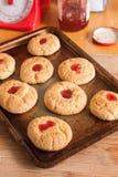 Biscotti di cottura Immagini Stock Libere da Diritti