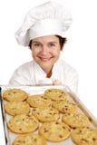 Biscotti di cottura del cuoco unico Immagini Stock Libere da Diritti