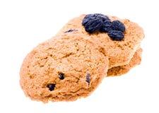 Biscotti di farina d'avena Fotografie Stock