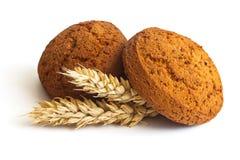 Biscotti di farina d'avena Immagine Stock