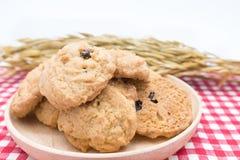 Biscotti di farina d'avena Immagini Stock