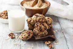 Biscotti di farina d'avena Fotografia Stock Libera da Diritti