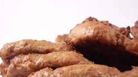 Biscotti di farina d'avena casalinghi stock footage