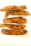 Biscotti di farina d'avena del mirtillo della zucca Fotografia Stock