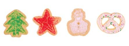Biscotti di festa Immagini Stock Libere da Diritti