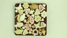 Biscotti di festa video d archivio