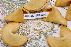 Biscotti di fortuna Fotografia Stock Libera da Diritti