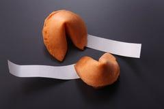 Biscotti di fortuna Fotografie Stock