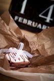 Biscotti di giorno di Valentine´s Fotografia Stock