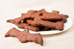 Biscotti di Halloween immagine stock