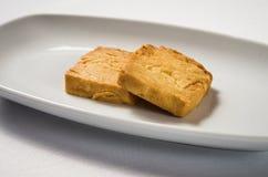Biscotti di mandorla immagine stock