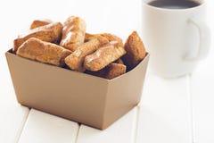 Biscotti di mandorla Fotografie Stock
