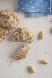 Biscotti di mandorla Fotografia Stock