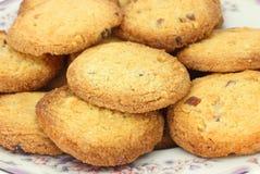 Biscotti di mandorla del limone Immagini Stock