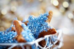 Biscotti di natale Fotografie Stock