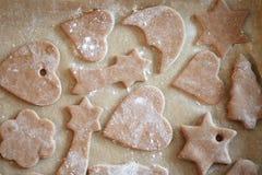Biscotti di Natale immagini stock