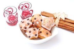 Biscotti di Natale Immagine Stock