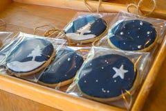 Biscotti di natale Fotografia Stock