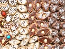 Biscotti di natale dalla repubblica ceca Fotografia Stock Libera da Diritti