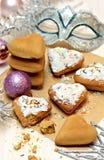 Biscotti di natale del pan di zenzero Immagini Stock Libere da Diritti