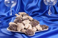 Biscotti di natale del pan di zenzero Fotografie Stock Libere da Diritti