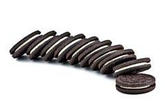 Biscotti di Oreo immagini stock