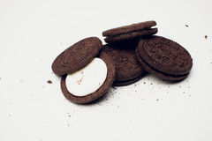 Biscotti di Oreo immagine stock libera da diritti