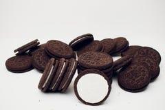 Biscotti di Oreo Fotografia Stock Libera da Diritti