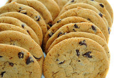 Biscotti di pepita di cioccolato Fotografia Stock Libera da Diritti