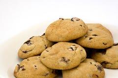 Biscotti di pepita di cioccolato Fotografia Stock