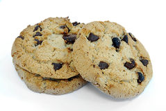 Biscotti di pepita di cioccolato immagine stock