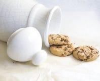 Biscotti di pepita di cioccolato Immagine Stock Libera da Diritti