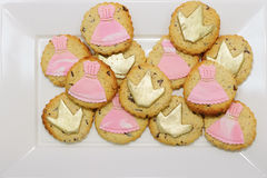 Biscotti di principessa Fotografia Stock