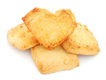 Biscotti di Shortbread Immagini Stock Libere da Diritti
